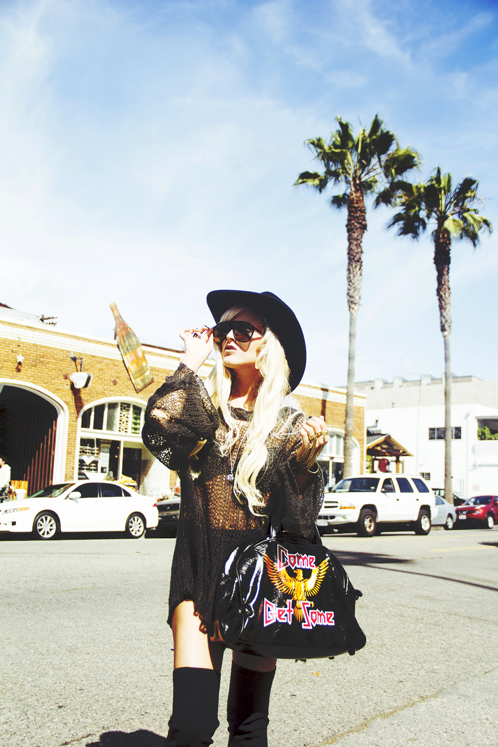 rachel lynch, i hate blonde, nasty gal, wildfox, wildfox lost sweater, dolls kill
