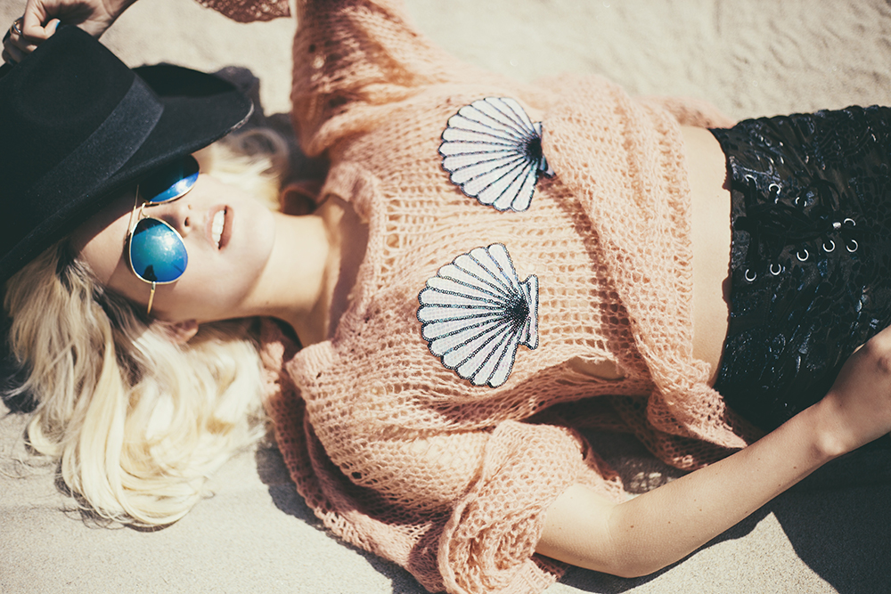 mermaid, rachel lynch, wildfox, i hate blonde, wildfox couture