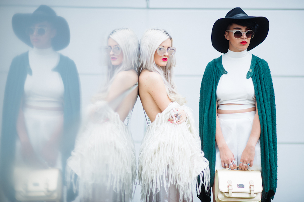 nyfw - new york fashion week - spring 15 - rachel lynch - nasty gal - karen walker