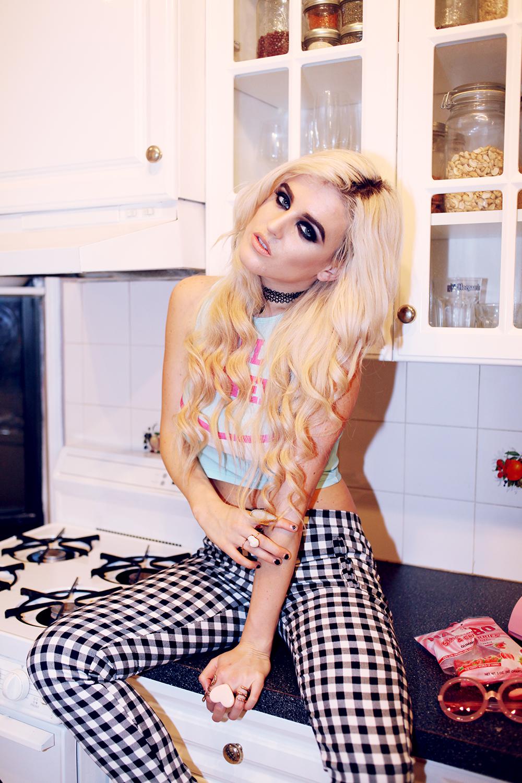 o-mighty weekend, i hate blonde, rachel lynch, punk, goth, health goth