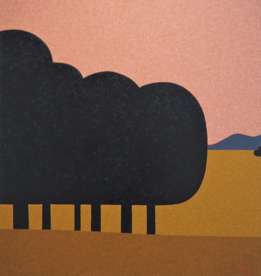 Mark Howson, Kyneton Dusk, 2015, Oil on linen, 91 x 87 cm.jpg