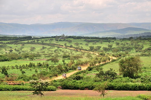"Rwanda, ""the county with a thousand hills""..."