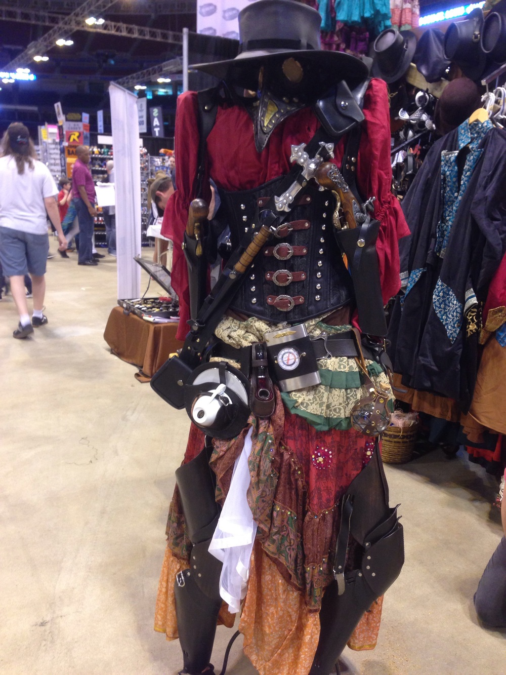 Wicked Steampunk attire!