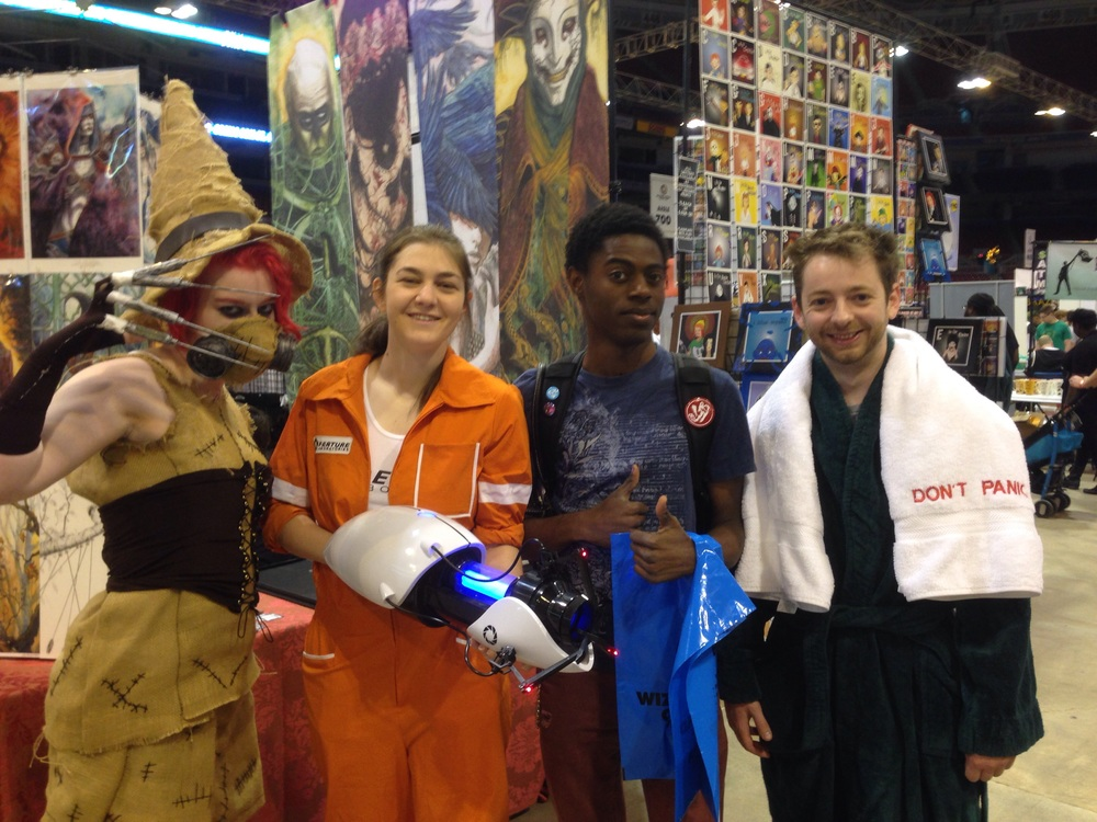 Also another great group.  I am always a fan of Chell.