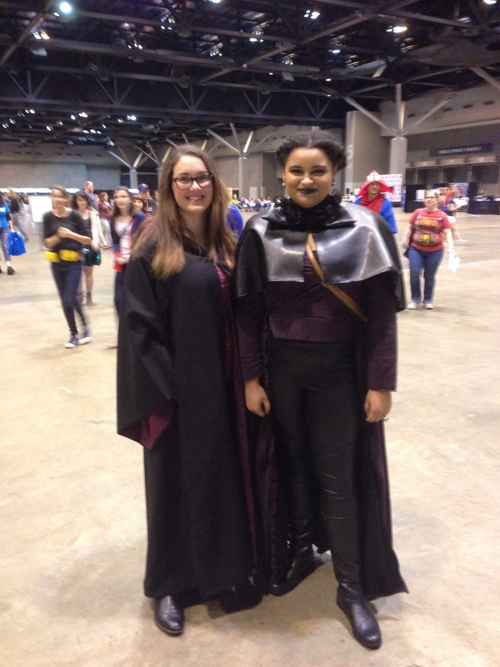 Some HP and ? Not sure, but the attire was quite good!