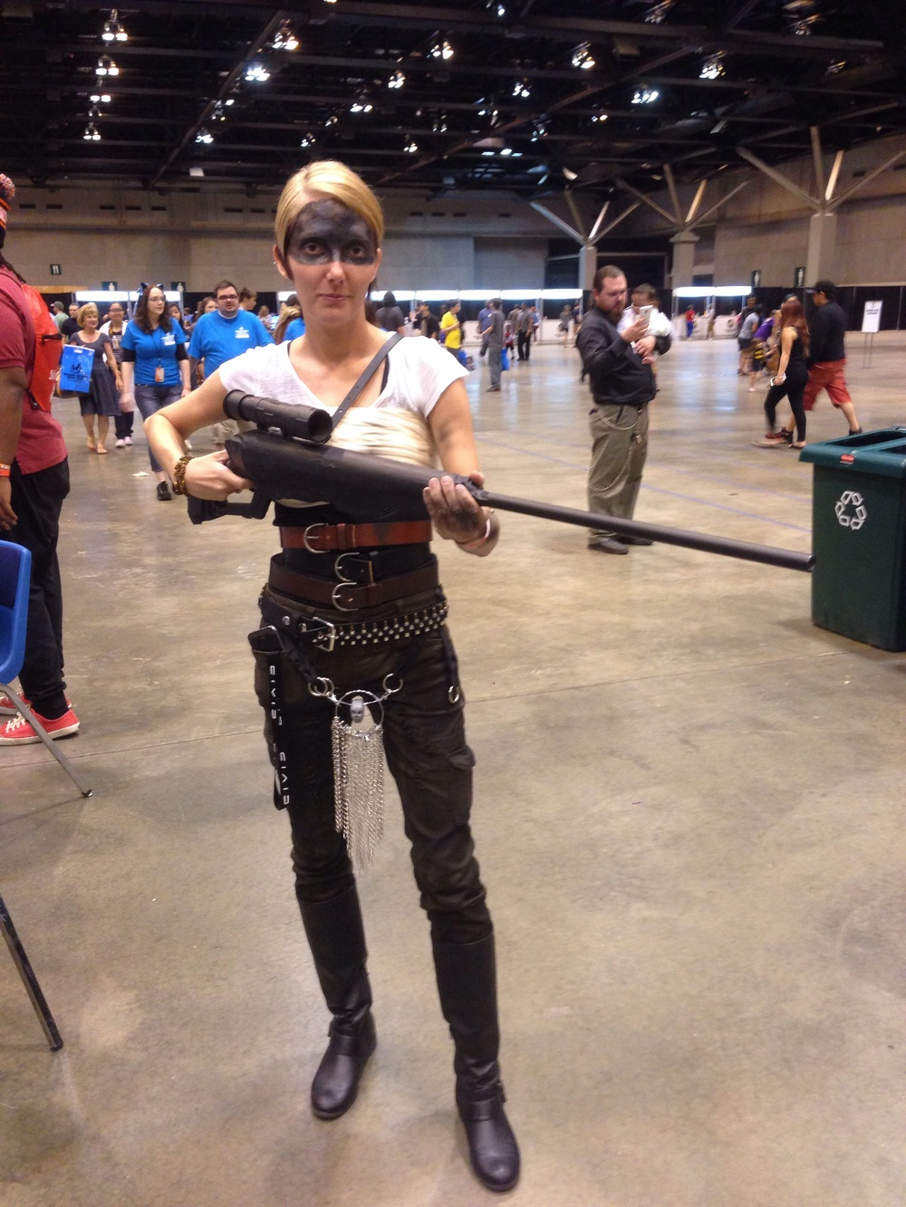 The new one MUST be pretty solid, I saw at least 4 Furiosa's over the Con.