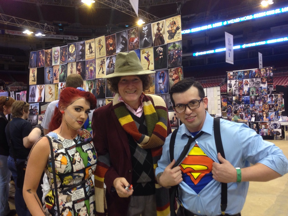 The Doctor, and (super)friends!