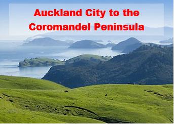 Auckland City to Coromandel Peninsula