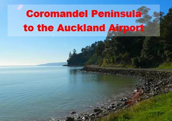Coromandel Peninsula to Auckland Airport