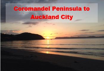 Coromandel Peninsula to Auckland City