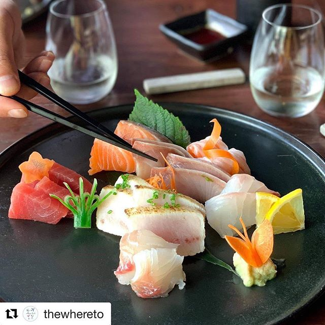 Thanks @renaesmithmc for this awesome chance... sushi is great with @tequilacorralejoaustralia