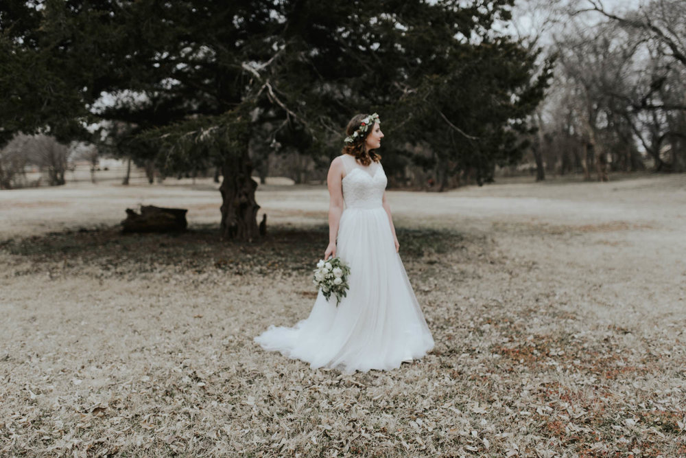 Oklahoma City Bridal Portraits