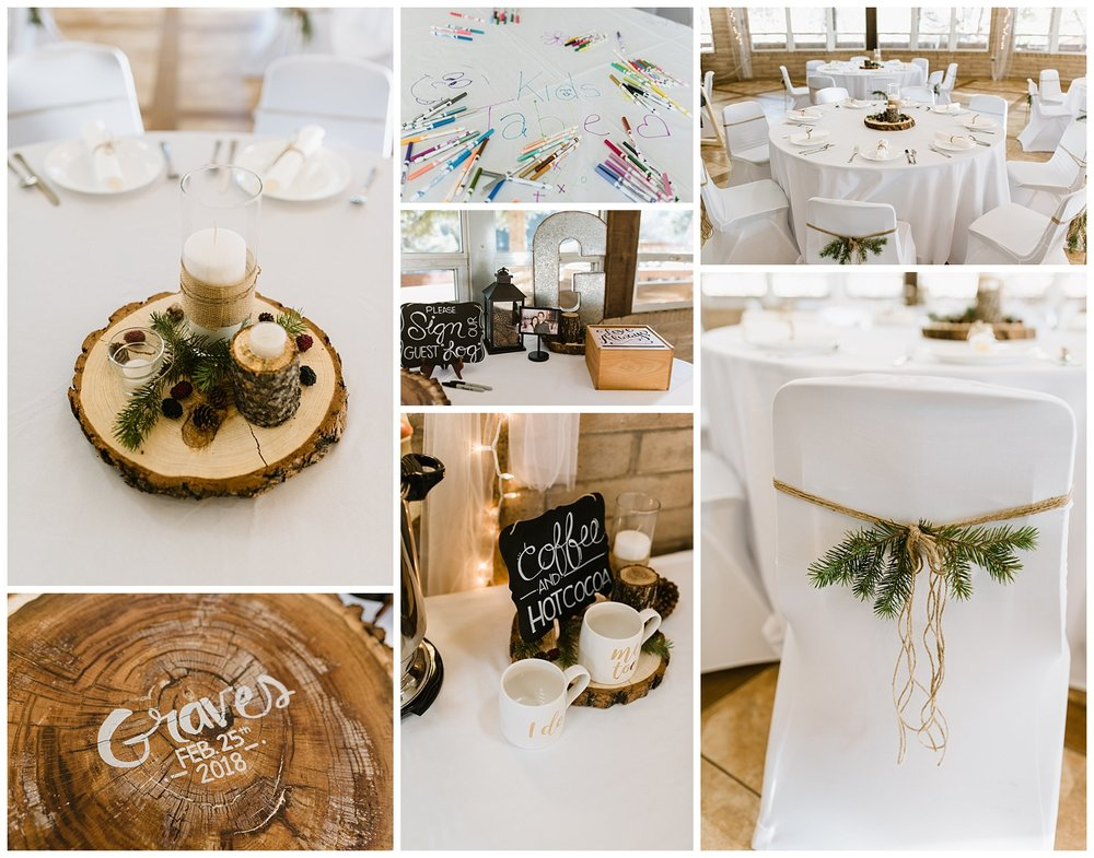 Rustic Winter Wedding in the New Mexico Mountains