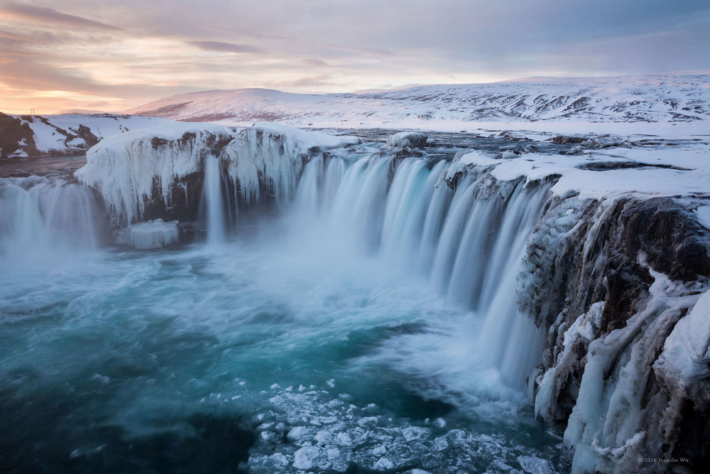 Godafoss, Iceland. Photographed at f/14, 1/3 seconds, ISO 50, EF24-70mm f/2.8L II USM at 28mm, Canon EOS 5D Mark III