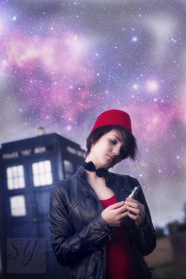 Because, you just need so fit the TARDIS in somewhere.