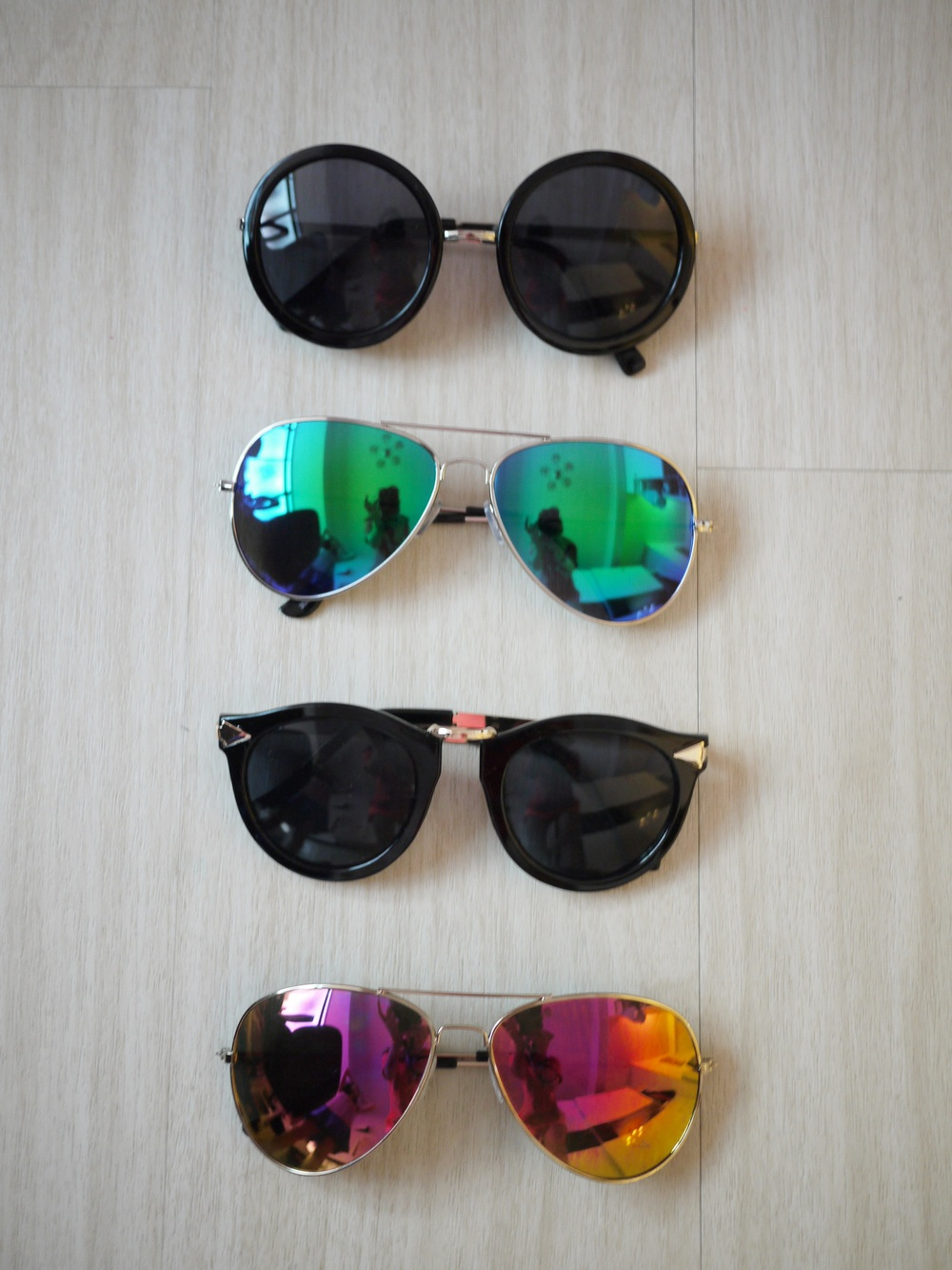 Mirrored sunglasses [水銀墨鏡 ] - Gosis604.com