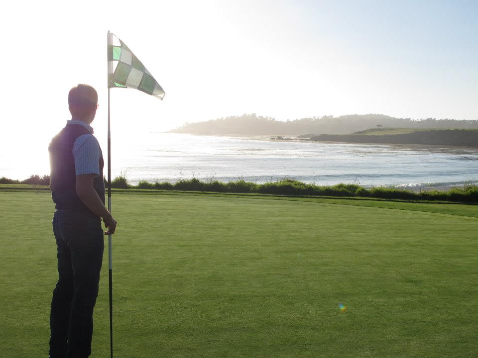 Pebble Beach Golf Course, Carmel-By-The-Sea (CA, USA)
