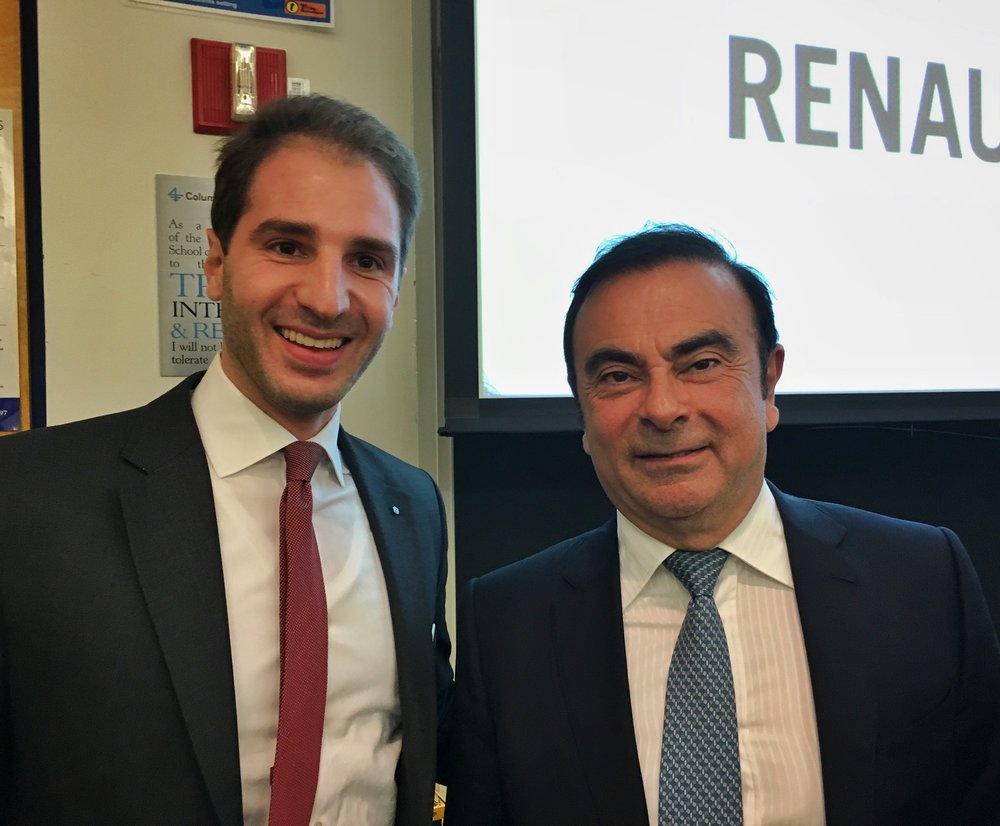 Paul Klimos & Carlos Ghosn