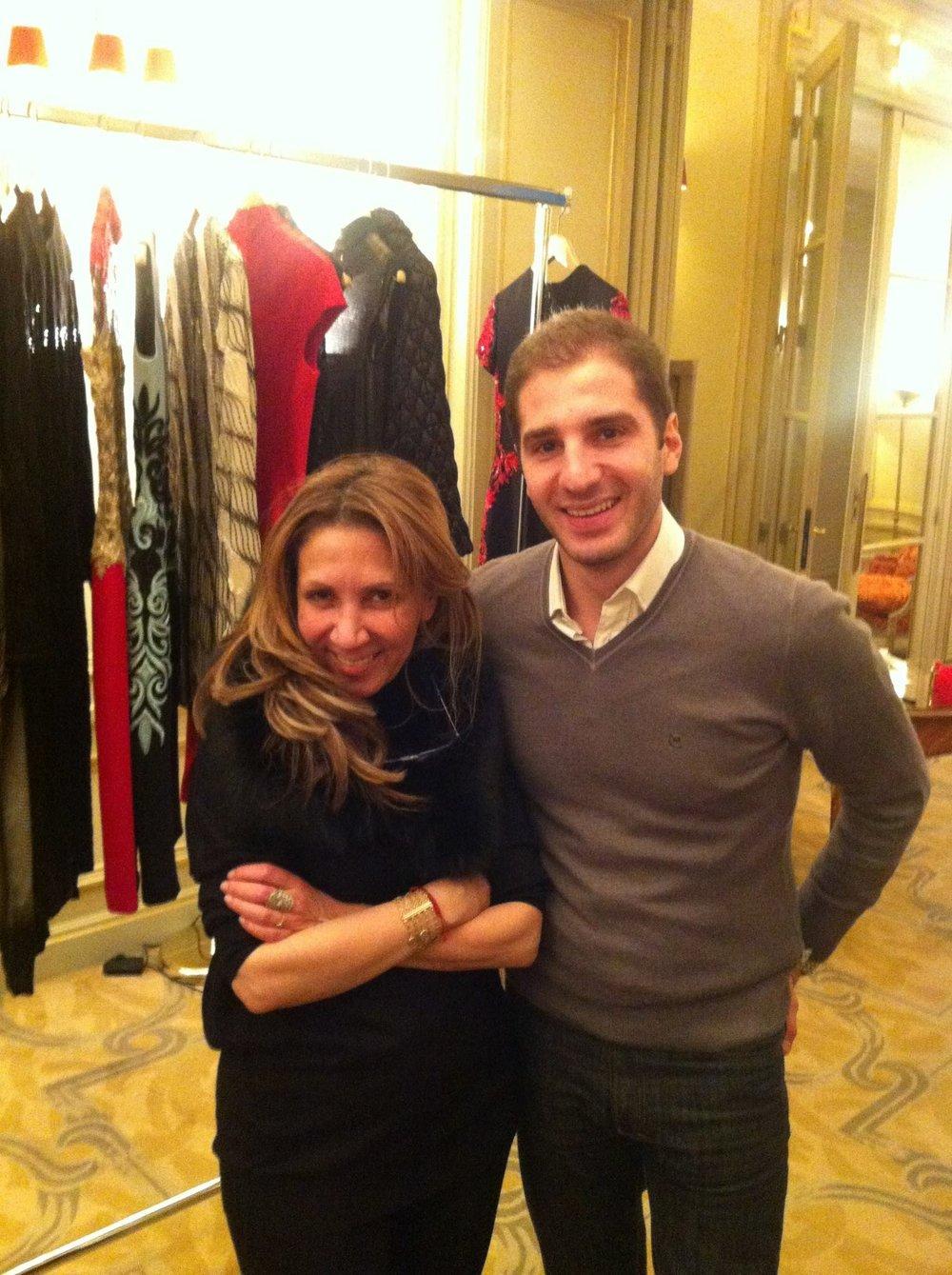 Paul Klimos & Reem Acra