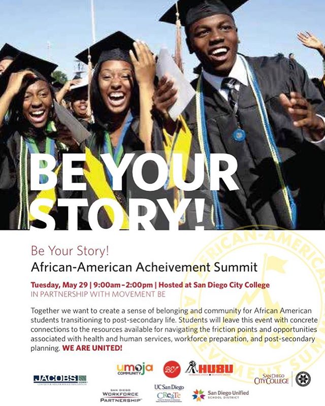 "Very excited for the 1st Annual ""BE Your Story""- African American Achievement Summit tomorrow! In partnership w/ @movementbe, high school students will be encouraged to tell their story, participate  in storytelling workshops, and get resources from the community all on the Movement BE app! This is what it's all about!  Hosted and keynoted by yours truly. #movementbe #tellyourstorybeforetheydo #beyourstory #africanamericanachievement"