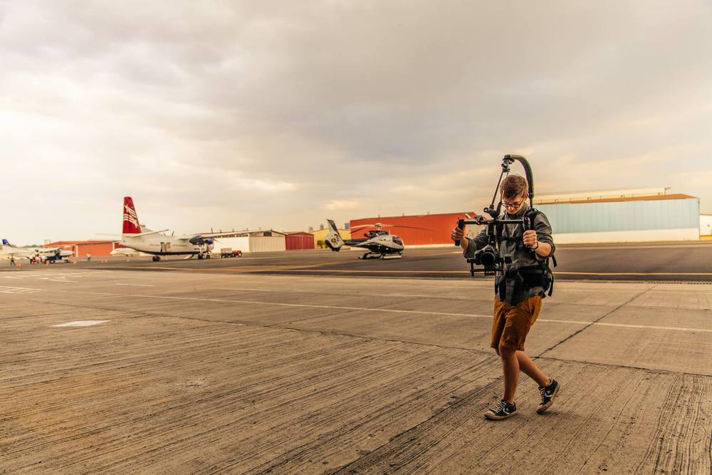 Ronin-M and Easyrig at the Heliport Photo credit: Yasha Malekzad