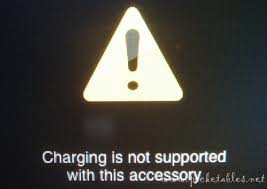 Unable to charge