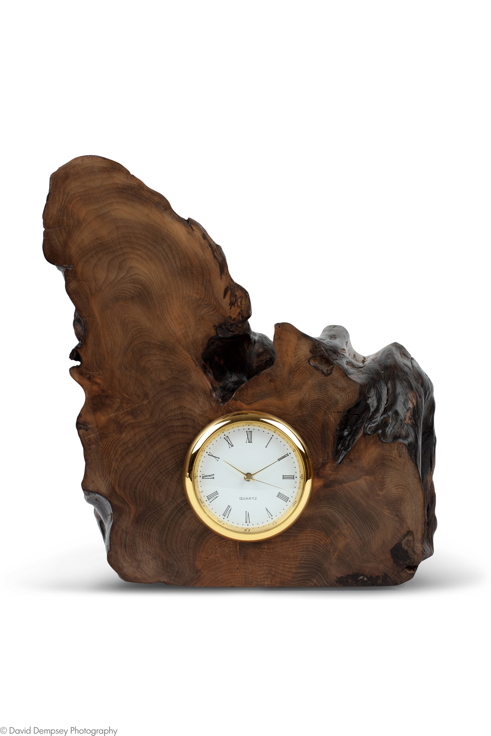 'Yew' clock - Paul Colman