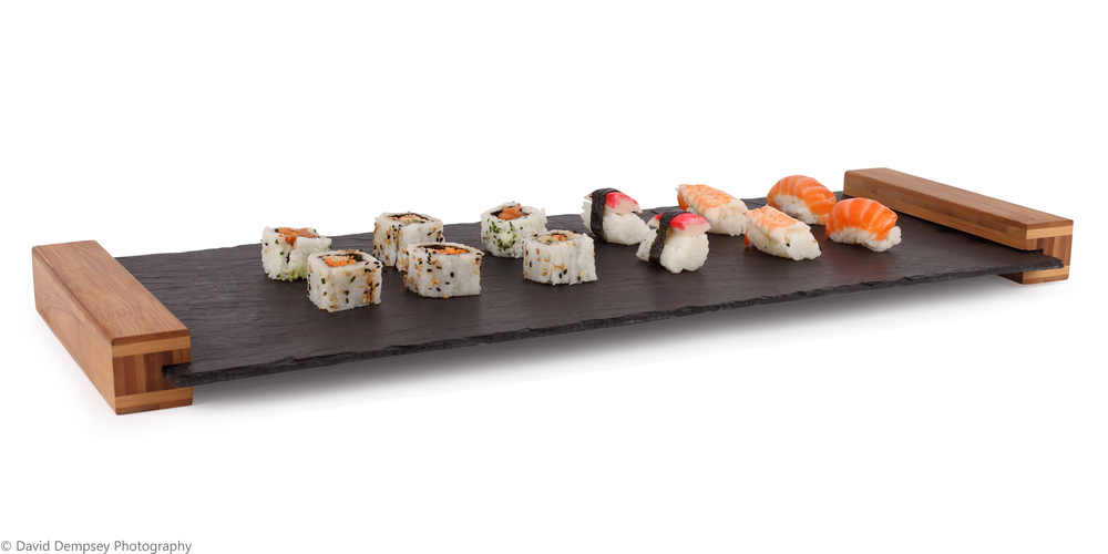The Splate - server with sushi