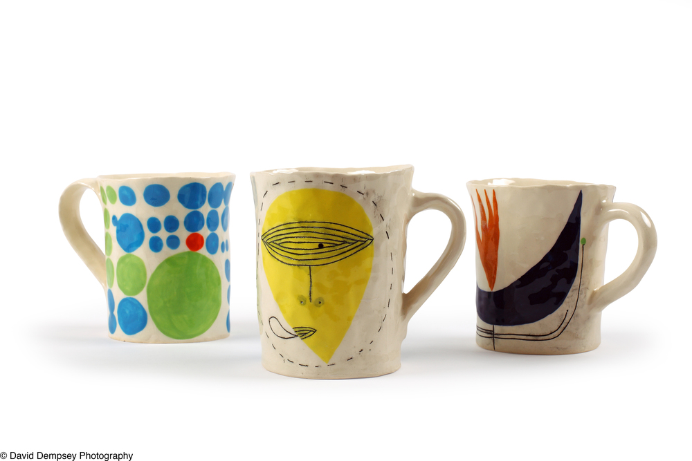 Mugs by Andrew Ludick