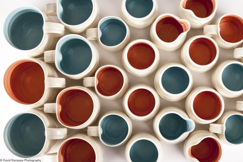 Chloe Dowds porcelain for Eleanor Swan Ceramics..