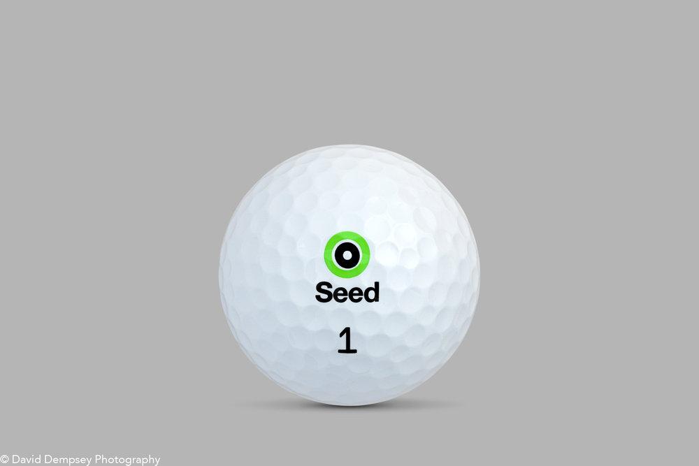 Golf ball seedgolf.com