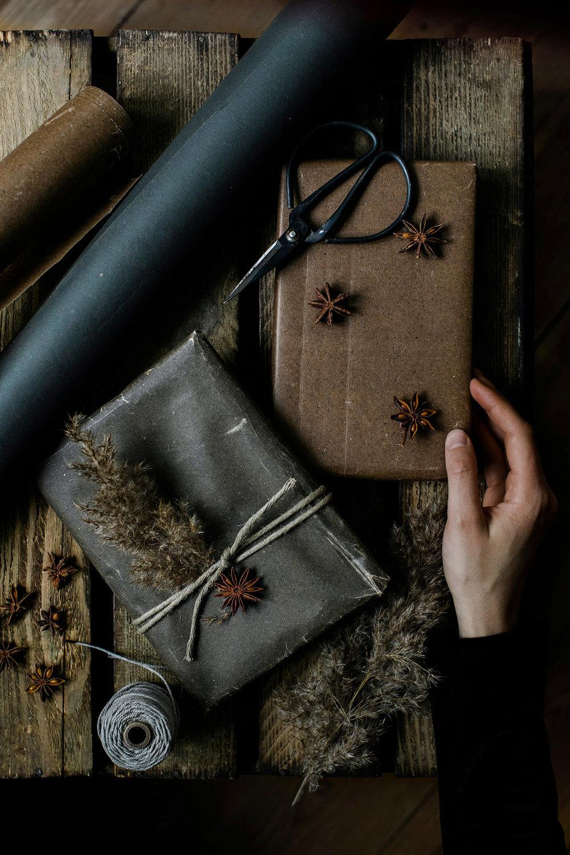 geschenkverpackung-weihnachten-granit-wachspapier-2