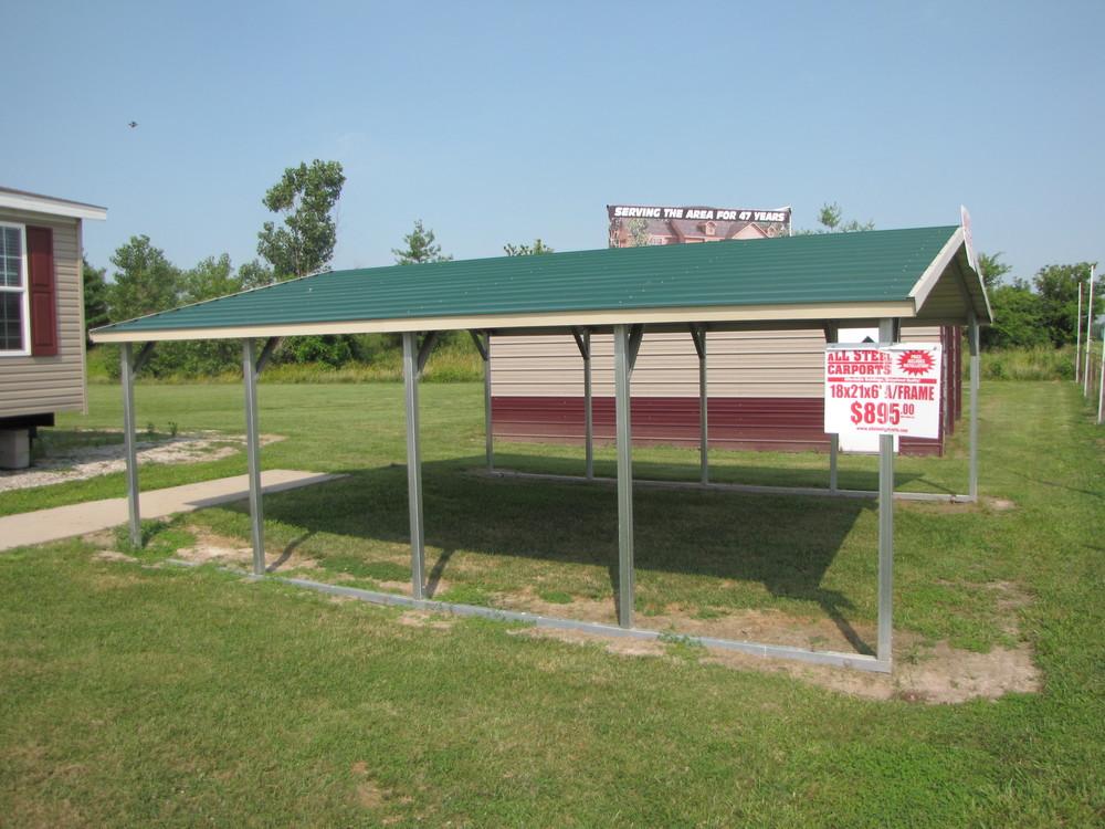 All Steel Carports — Scott-Banzai Homes, Inc.