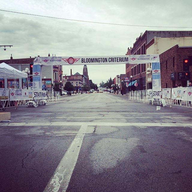 All coming together! Come on down to downtown! Racing starts at 11am.