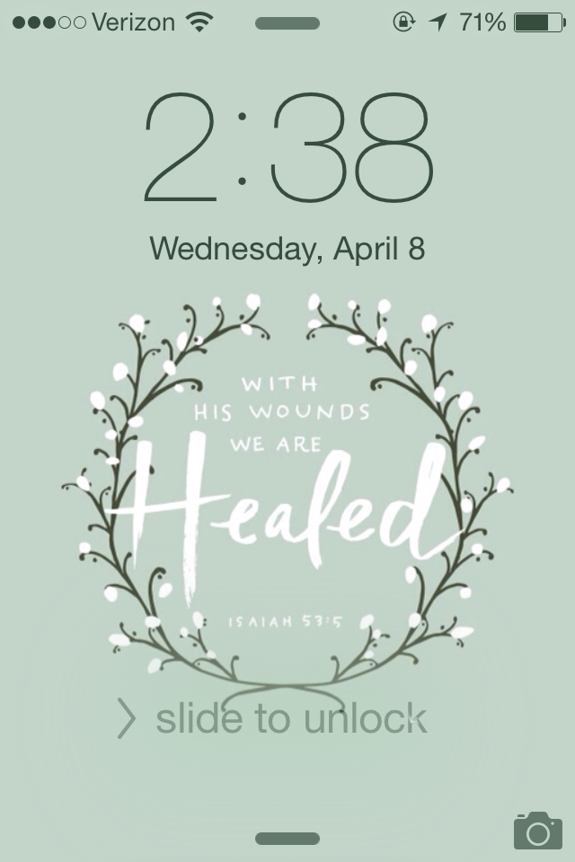 Lockscreen featured from She Reads Truth