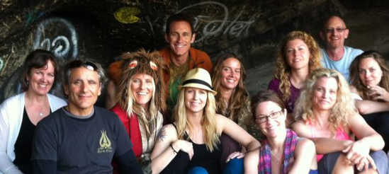 Chiaradina with Shiva Rea in Malibu (Prana Flow)