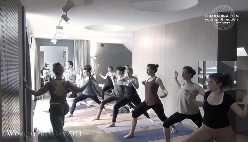 2013 - WORLD YOGA DAY MANDALAHOF