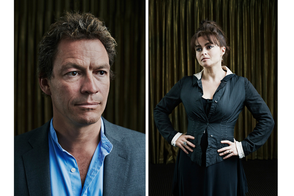 Dominic West and Helena Bonham-Carter for BAFTA