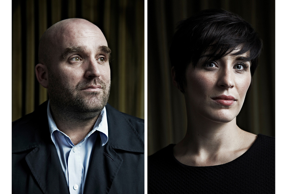 Shane Meadows and Vikky McClure for BAFTA