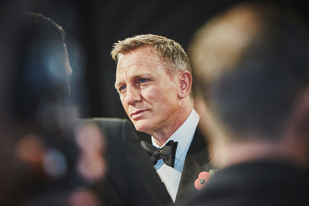 Daniel Craig at the Spectre premier