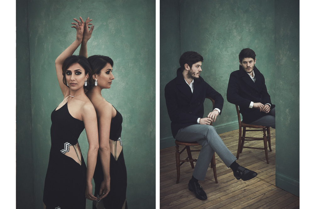 Anita Rani and Iwan Rheon