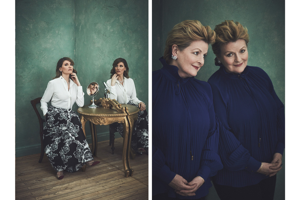 Sharon Horgan and Brenda Blethyn