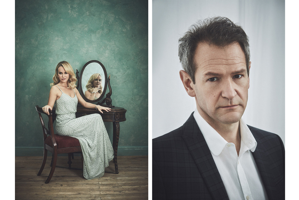 Amanda Holden and Alexander Armstrong