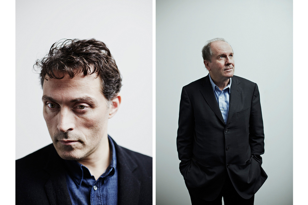 Rufus Sewell and William Boyd