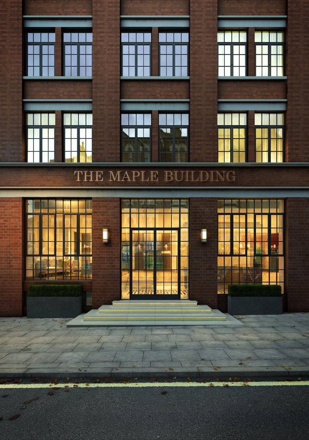 Maple Building — CSA - Clive Sall Architecture