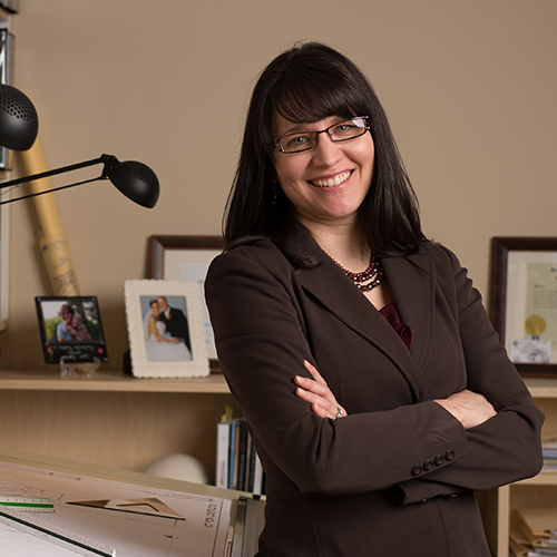 AMY DIRKES, AIA, LEED AP Project Architect