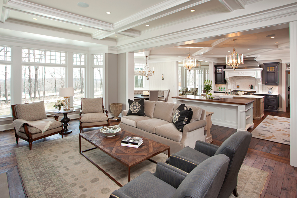 Designed by Eskuche Design and built by Hendel Homes, 'Hampton's In The Country' has been saved to more than 55,000 ideabooks on Houzz.com. (Photography by Landmark Photography)