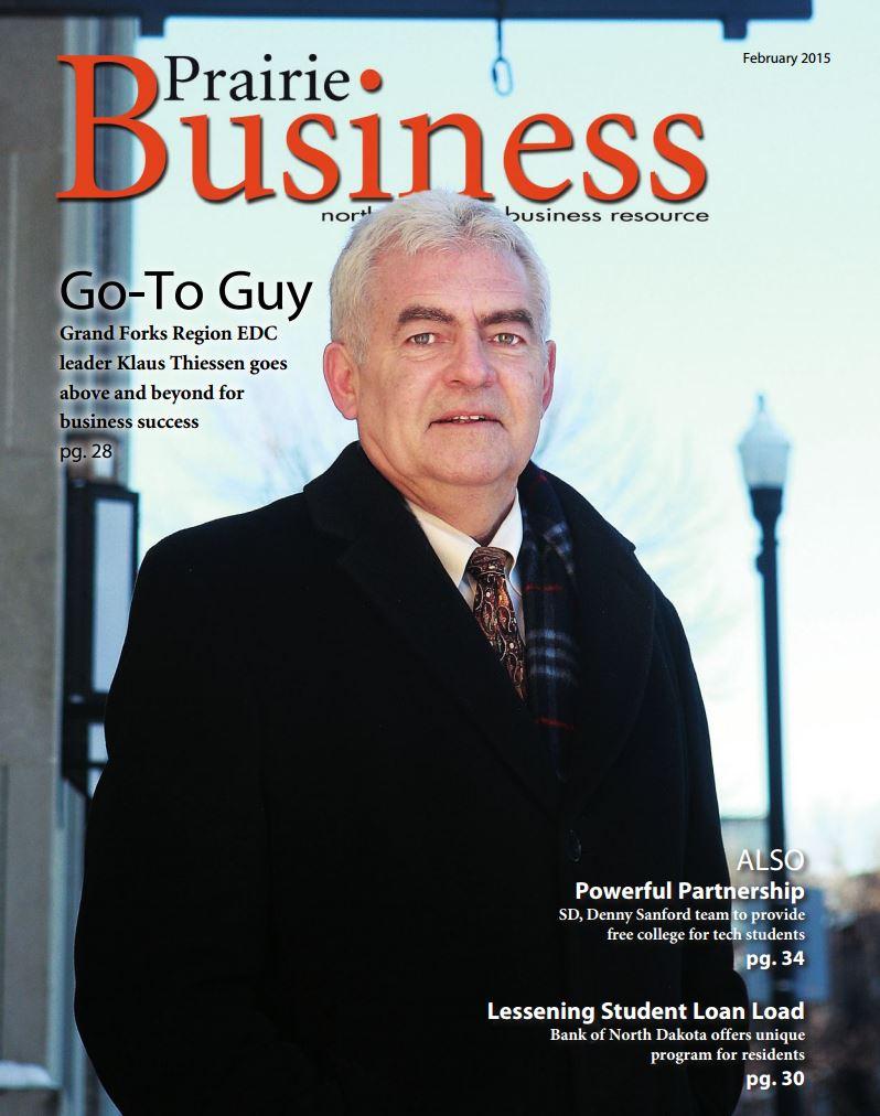 Nor-Son Featured in Prairie Business Magazine for Sanford Fargo Medical Center
