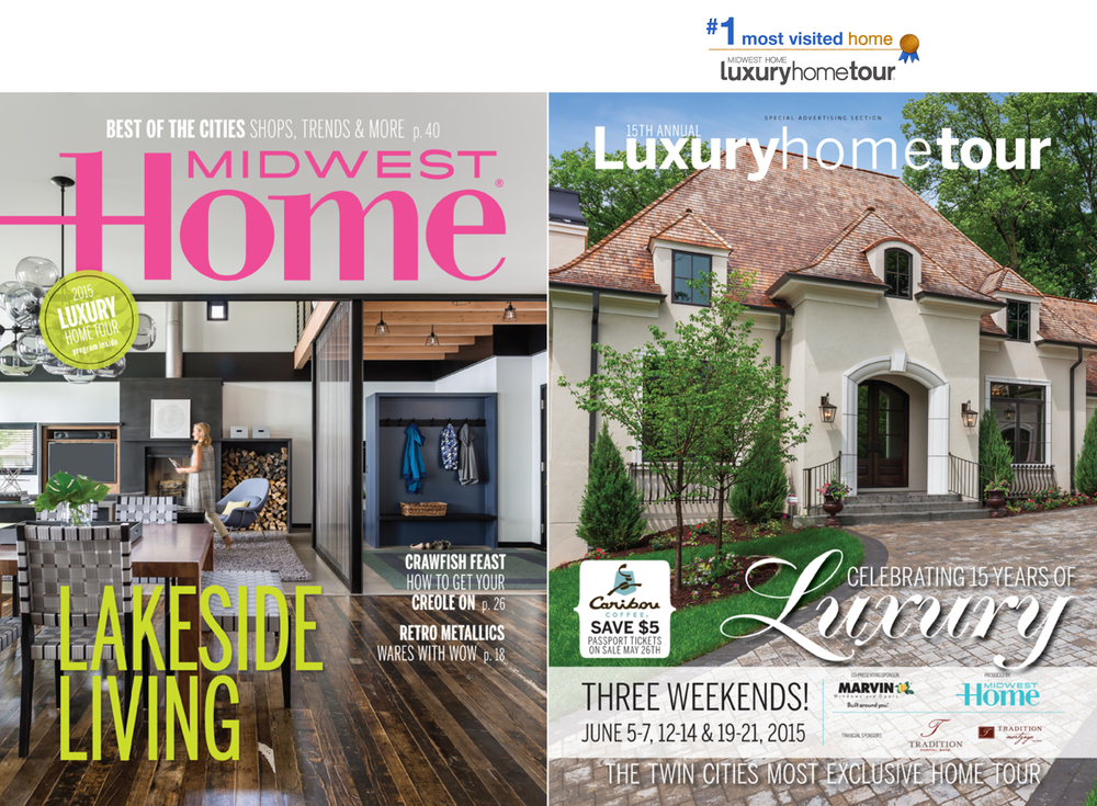 Luxury Home Tour tickets are now on Sale! Nor-Son's #1 most visited home from last year's tour is proudly featured on the cover of the program. Stop by our two homes for twice the luxury!