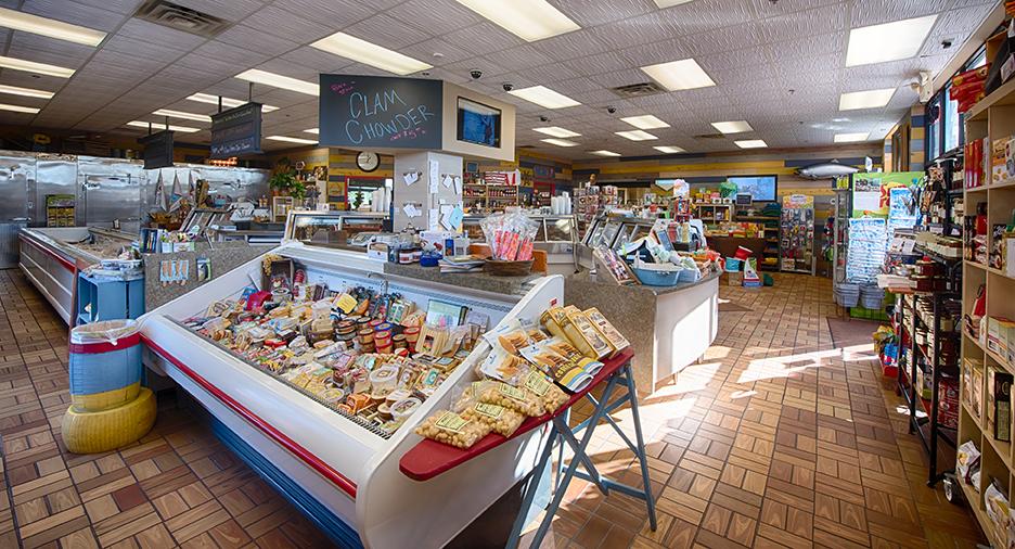 Morey's Seafood Market - Interior
